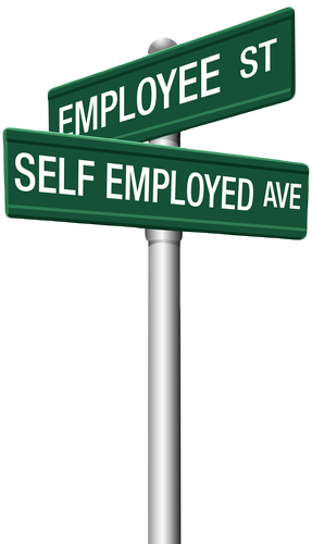 Self employed or employee