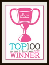 Mum's club top 100 Businesses 2012